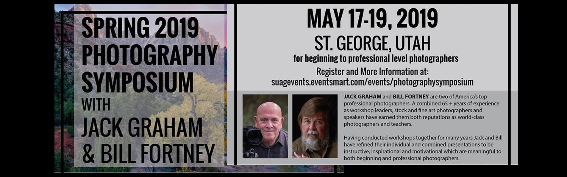 Photography Symposium with Jack Graham and Bill Fortney