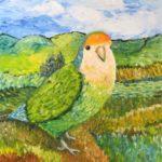 Van Gogh Lovebird