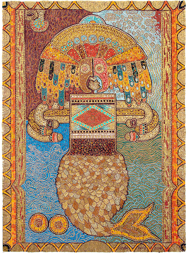 'The Ocean Watchman' 2006 Glass mosaic tiles