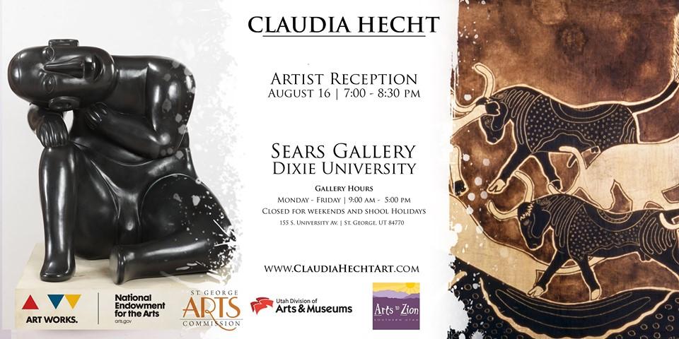 Claudia Hecht - Artist Reception